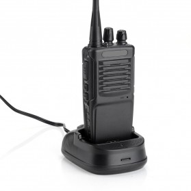 Taffware Walkie Talkie Single Band 3W 16CH UHF - BF-R7 - Black - 5