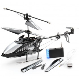 iHelicopter Lightspeed Mainan RC Helikopter - Black - 2