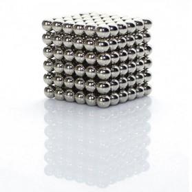 MINOCOOL Buckyballs Neocube Magnet Balls Toys 216 PCS 3mm - TH007004A - Silver