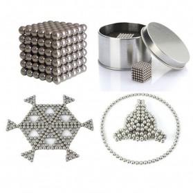 MINOCOOL Buckyballs Neocube Magnet Balls Toys 216 PCS 3mm - TH007004A - Silver - 2