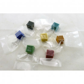 MINOCOOL Buckyballs Neocube Magnet Balls Toys 216 PCS 3mm - TH007004A - Black - 2