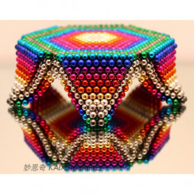 MINOCOOL Buckyballs Neocube Magnet Balls Toys 216 PCS 3mm - TH007004A - Black - 8