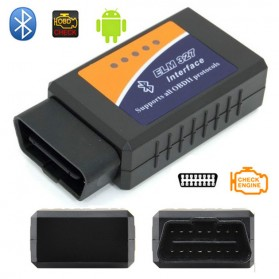 Car Diagnostic ELM327 Bluetooth OBD2 V1.5 Automotive Test Tool - Black - 2