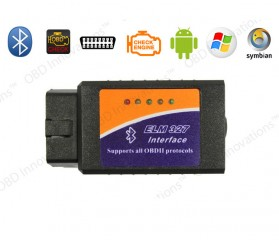 Car Diagnostic ELM327 Bluetooth OBD2 V1.5 Automotive Test Tool - Black - 3