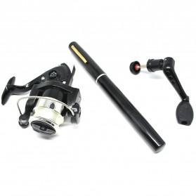 Balight Joran Pancing Pena Fish Pen Mini Portable Extreme Rod Length 1.4M - ST-Y0011 - Black - 2