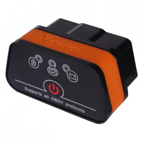 VGate ICAR 2 Car Diagnostic OBD2 ELM327 Bluetooth V1.7 - Black/Orange
