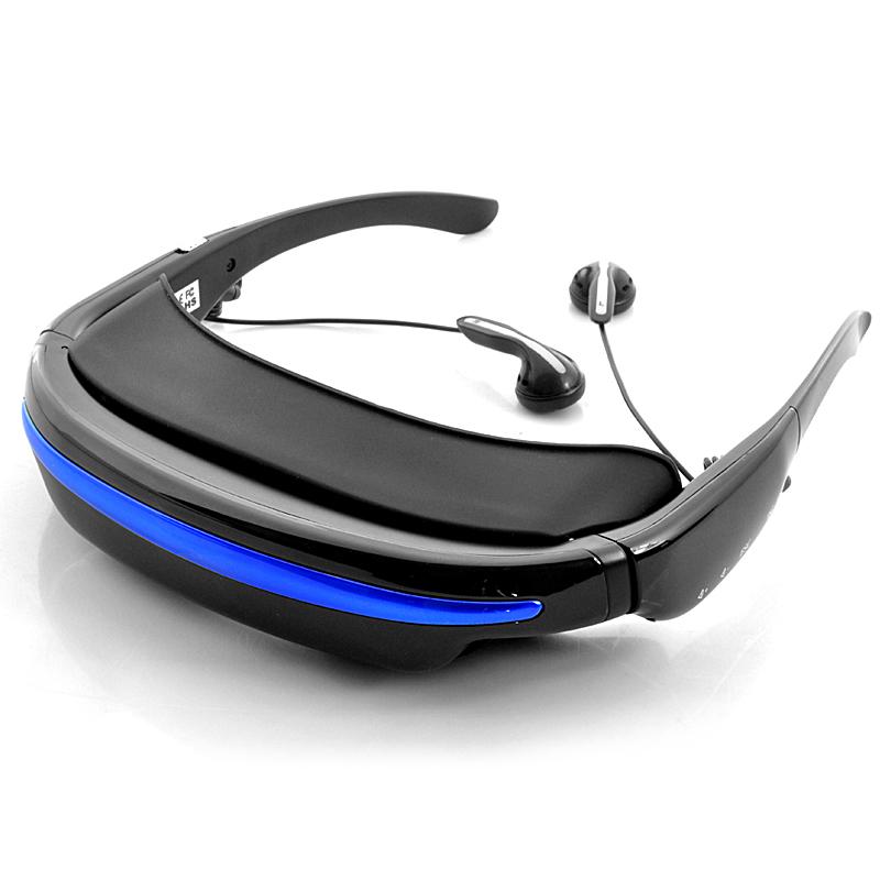 virtual reality private theater glasses black 1. Black Bedroom Furniture Sets. Home Design Ideas
