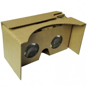 Virtual Reality / VR BOX / Google Cardboard - Cardboard Virtual Reality 2nd Generation for Smartphone up to 6 Inch - Small Lens