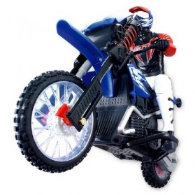 Remote Control RC Mini Scramble Motorcycle - HQ528 - Black Blue