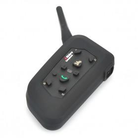 Motorcycle Helmet Bluetooth Interphone Headset 1200 Meter - V6-1200 - Black - 4