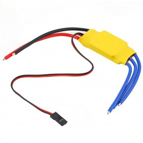 30A Brushless Motor Speed Controller RC BEC ESC T-Rex 450 V2 Helicopter Boat F5 - 2