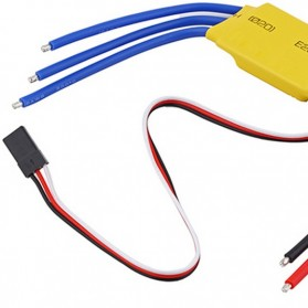 30A Brushless Motor Speed Controller RC BEC ESC T-Rex 450 V2 Helicopter Boat F5 - 3