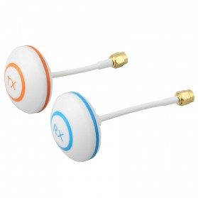 5.8 Ghz Circular Polarized Mushroom Antenna TX/RX with SMA Female For FPV - White
