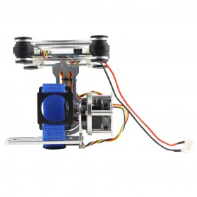 Light DJI Phantom GoPro CNC Brushless Motor Camera Gimbal with BGC ControllerRTF - Silver