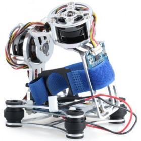 Light DJI Phantom GoPro CNC Brushless Motor Camera Gimbal with BGC ControllerRTF - Silver - 3