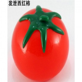 Squishy Anti Stress Ball Bentuk Tomat - Red - 2