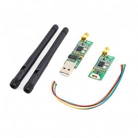 Single TTL 3DRobotics 3DR Radio Telemetry Kit 915Mhz Module for APM - Black