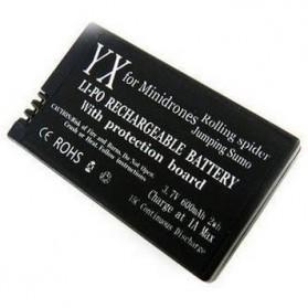 Battery for Parrot Mini Drone 3.7V 600mAh 15C - Black