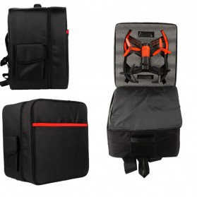 Nylon Portable Travel Backpack for Parrot Bebop Drone 3.0 - Black