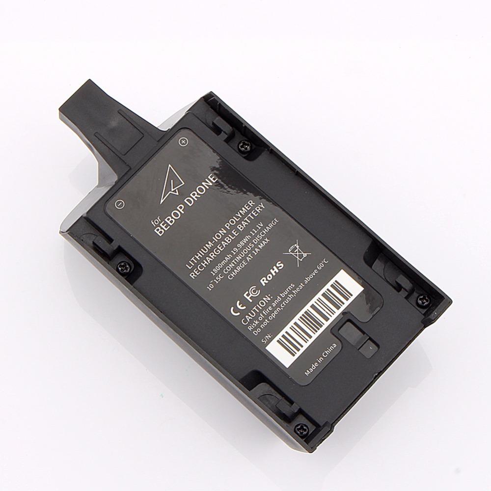 battery for parrot bebop drone 3 0 11 1v 1800mah 10 15c black. Black Bedroom Furniture Sets. Home Design Ideas