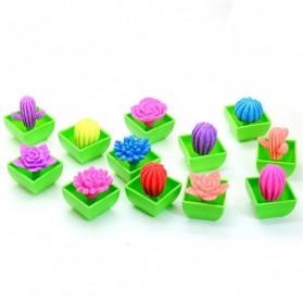 Colored Magic Growing Cactus Kids Toy / Mainan Kaktus (Large Size) - 1 PCS - Multi-Color
