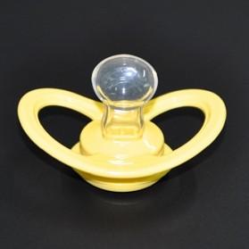 Perlengkapan Bayi - Baby Silicon Pacifier Dot - LK-2450 / Dot Empeng - Yellow