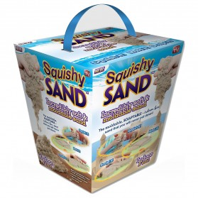 Squishy Sand Moldable Sand Kids Toys /  Mainan Pasir