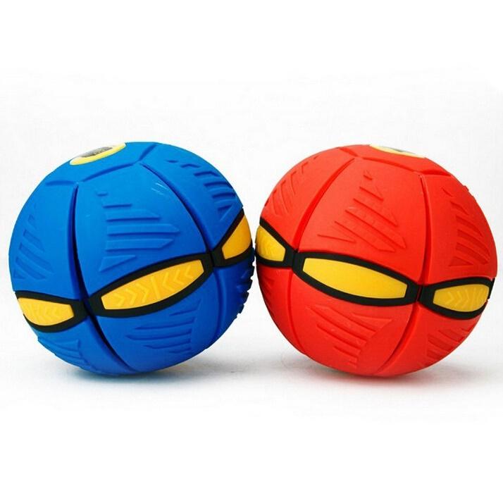 Flat Ball Disc Deformed Flying Frisbee To Ball Green Jakartanotebook Com