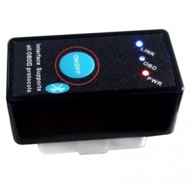 CY-B11 Car Diagnostic ELM327 Bluetooth OBD2 V2.1 Automotive Test Tool - Black - 5