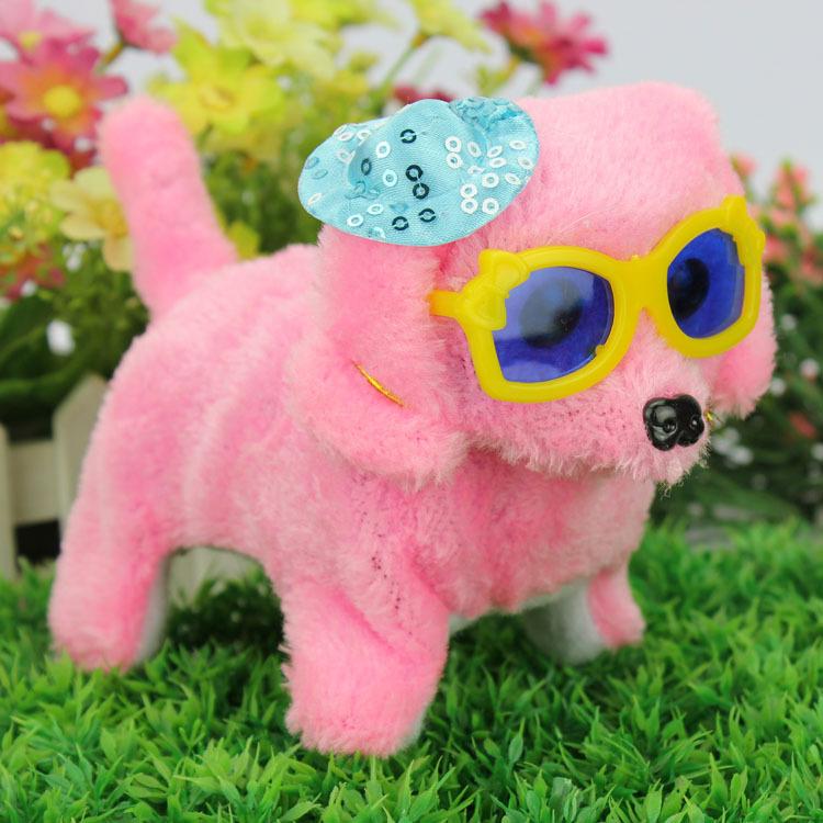 Children Educational Electric Dog Toy   Mainan Boneka Anjing - Brown - 8 ... 6d7a878144