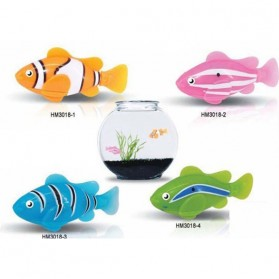 Electric Water Swim Fish Toy / Mainan Ikan - 3333-A - Multi-Color