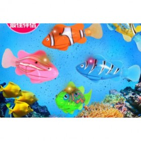 Electric Water Swim Fish Toy / Mainan Ikan - 3333-A - Multi-Color - 4