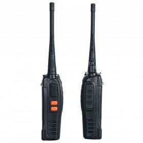 Taffware Walkie Talkie Single Band 16CH UHF - BF-888S - Black - 9
