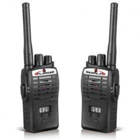 Flyrose Kids Walkie Talkie 2 PCS - JQ220-6C2 - Black