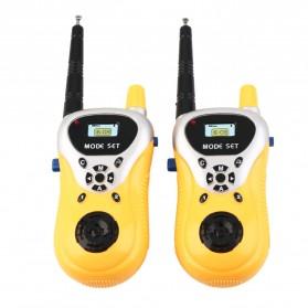 Ji Yuan Mainan Walkie Talkie 1 Pair - 7732AB - Yellow