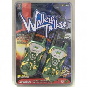 Walkie Talkie / Handy Talkie - Ji Yuan Mainan Walkie Talkie 1 Pair - 7732AB - Camouflage