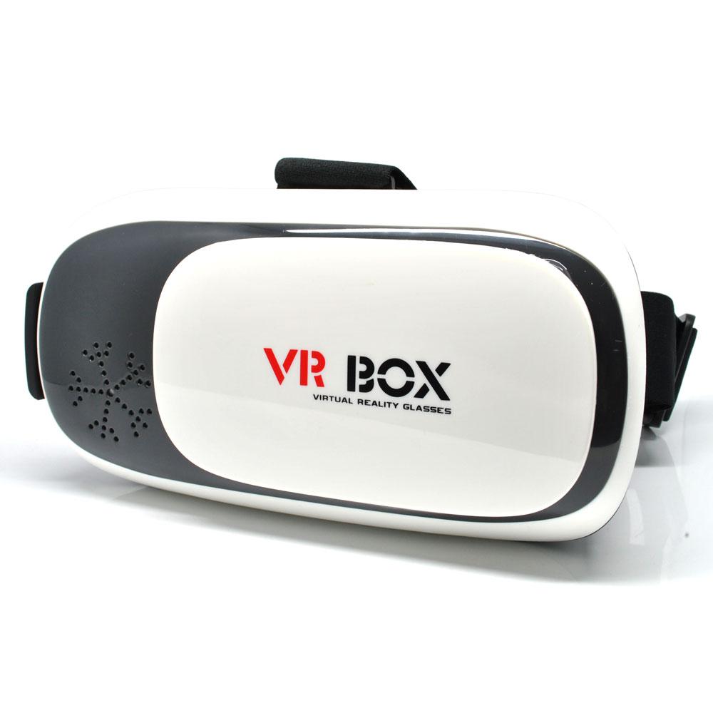 33e9c49dbfe4 ... VR Box Second Generation Virtual Reality Cardboard for Smartphone -  White - 1 ...