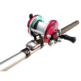 XING SHENG YU JU Sheng Precision Mini Casting Reel Pancing - ME-103 - Red - 3
