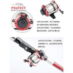 XING SHENG YU JU Sheng Precision Mini Casting Reel Pancing - ME-103 - Red - 4