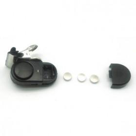 Alarm Pancing Waterproof dengan Klip Metal - A8-2 - Black - 4
