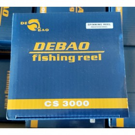 Debao CS3000 Fishing Spinning Reel 8 Ball Bearing / Reel Pancing 5.2:1 Gear Ratio - Blue - 11