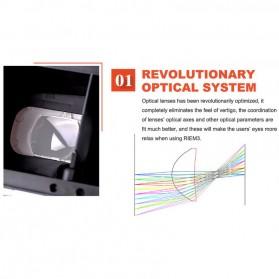 RITECH VR Cardboard 3D Virtual Reality 3rd Generation - RIEM 3 - White - 5