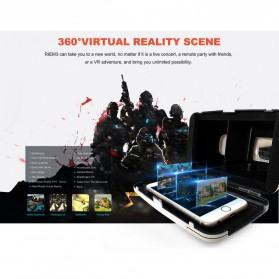 RITECH VR Cardboard 3D Virtual Reality 3rd Generation - RIEM 3 - White - 9