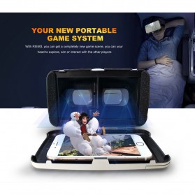 RITECH VR Cardboard 3D Virtual Reality 3rd Generation - RIEM 3 - White - 11
