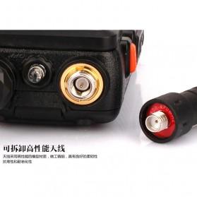 Taffware Walkie Talkie Dual Band 5W 128CH UHF+VHF - BF-UV-5R - Black - 7