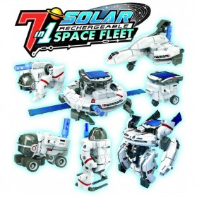 Mainan DIY Robot Edukasi Solar Science 7 in 1