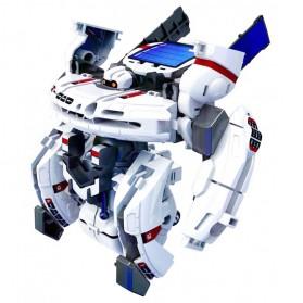 Mainan DIY Robot Edukasi Solar Rechargeable 7 in 1 Space Fleet - SF34 - 2
