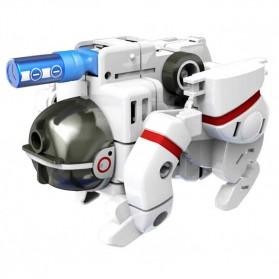 Mainan DIY Robot Edukasi Solar Rechargeable 7 in 1 Space Fleet - SF34 - 3