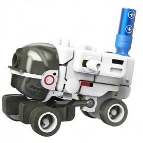 Mainan DIY Robot Edukasi Solar Rechargeable 7 in 1 Space Fleet - SF34 - 6