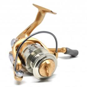 Fanshun Gulungan Pancing FH4000 Metal  Fishing Spinning Reel 10 Ball Bearing - Golden - 3